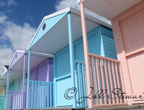 Clacton-on-Sea beach huts